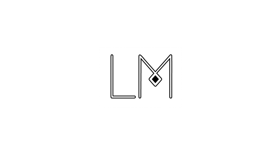 Logo Laetitia Munduteguy black and white